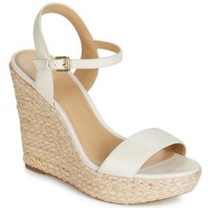 Michael Kors Jill Espadrille Wedge Sandals NWOT